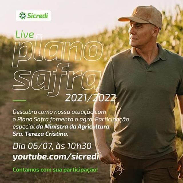 No Sicredi, o agronegócio rende um mundo melhor! Convite:
