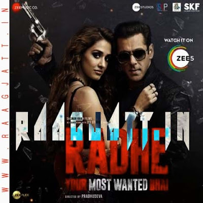 Radhe Title Track by Sajid lyrics
