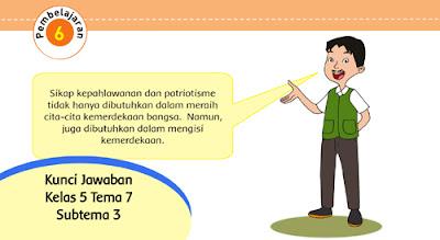 kunci jawaban buku siswa kelas 5 tema 7 subtema 3 pb 6