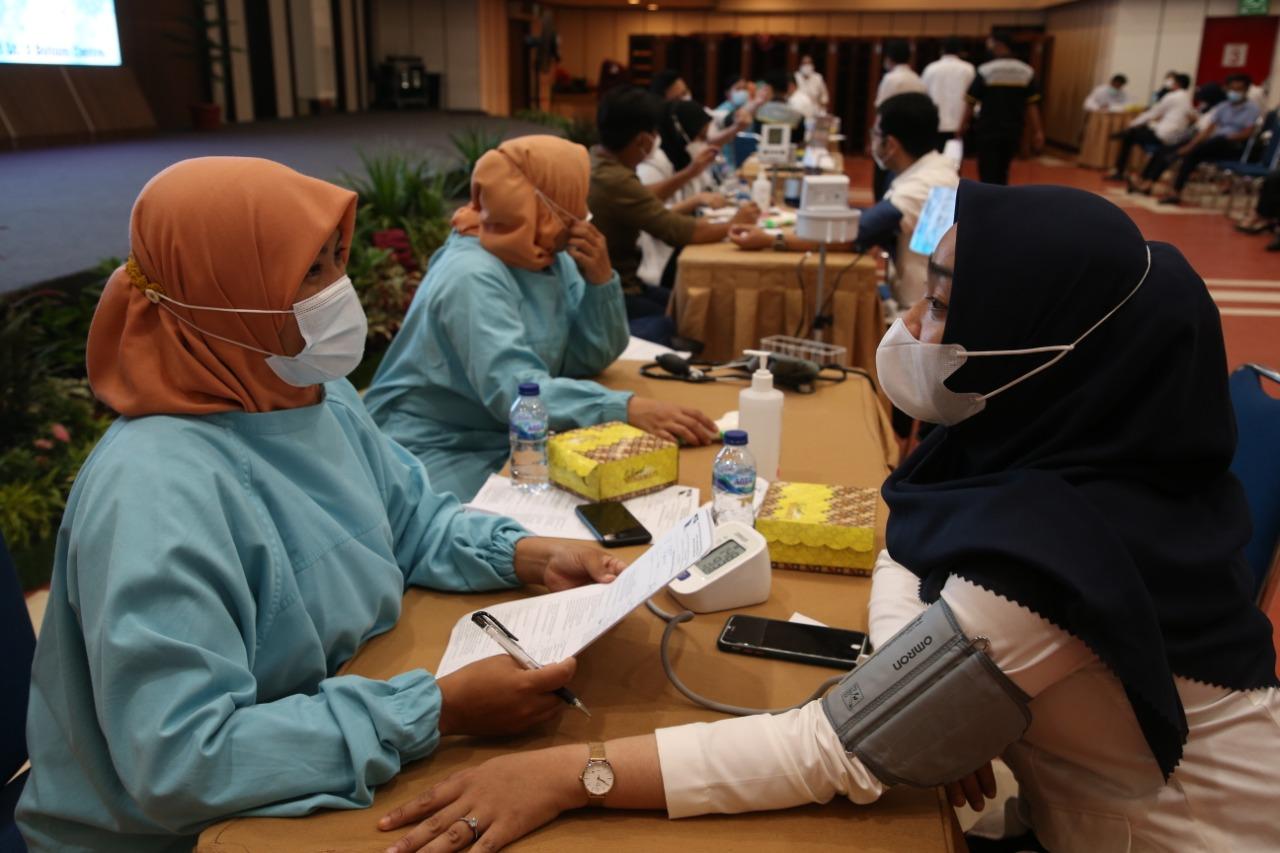 Vaksinasi Covid-19 Tahap Pertama Bagi Pegawai BP Batam Telah Selesai, Tahap Kedua Direncanakan Juni