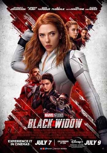 Black Widow 2021 480p 400MB WEBRip Hindi Dubbed MKV