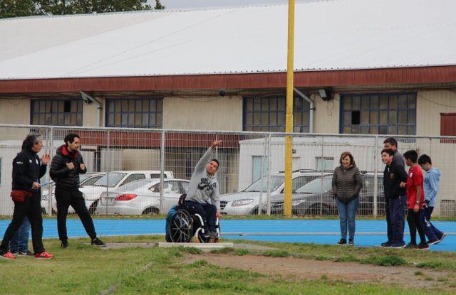 Clasificatorio regional de atletas paralímpicos