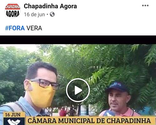 Campanha pelo afastamento da presidente da Câmara de Chapadinha