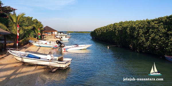 rencana perjalanan wisata royal island resort pulau kelapa