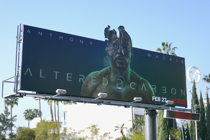 Altered Carbon season 2 extension billboard