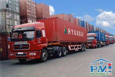 Trạm trung chuyển và kho chứa hàng của cảng nội địa