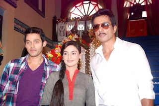 Sonu Sood on the sets of 'Hitler Didi' for promotion