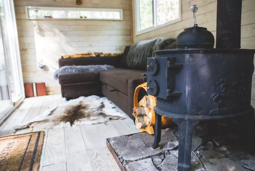 Container Cabin in the Catskills | Poppytalk
