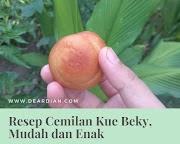 Resep Cemilan Kue Beky, Mudah dan Enak