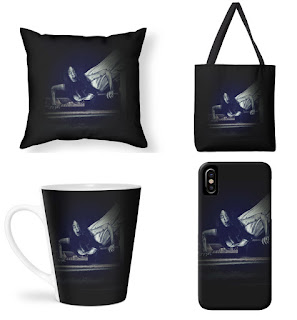 murakashi halloween accesories - phone case, pillow, mug, bag