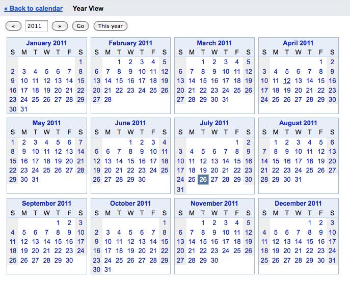 Free Yearly Calendar For 2012 Yearly Calendar Maker Google Calendar Year View
