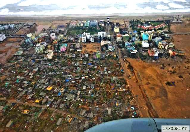 fani cyclone damages
