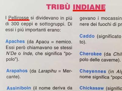Quando il Manuale delle Giovani Marmotte definiva i Nativi Americani ''indiani'' e ''pellirosse''