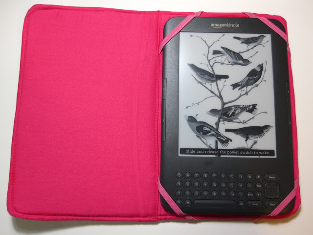 Kindle 2 Case: Clearlytangled.: Kindle Case Tutorial