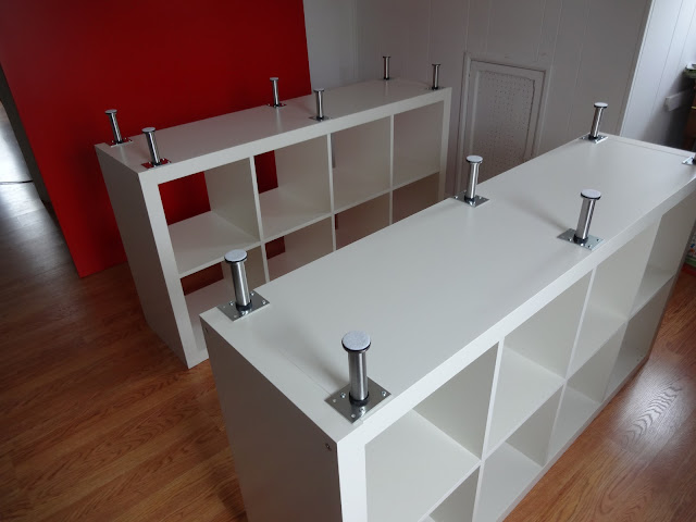 Becca S Crazy Projects Cutting Table Upgrade