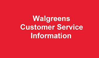 Walgreens Customer Service Number