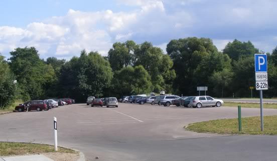 Trakų Akmenos ežero automobilių stovėjimo aikštelė