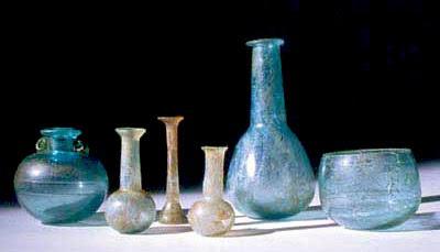 Il vetro romano for Vasi antichi romani