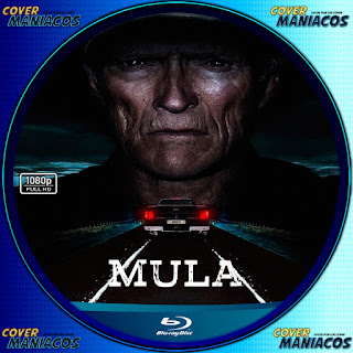 GALLETA MULA-THE MULE 2018[COVER BLU-RAY]