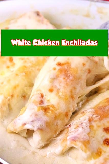 #White #Chicken #Enchiladas