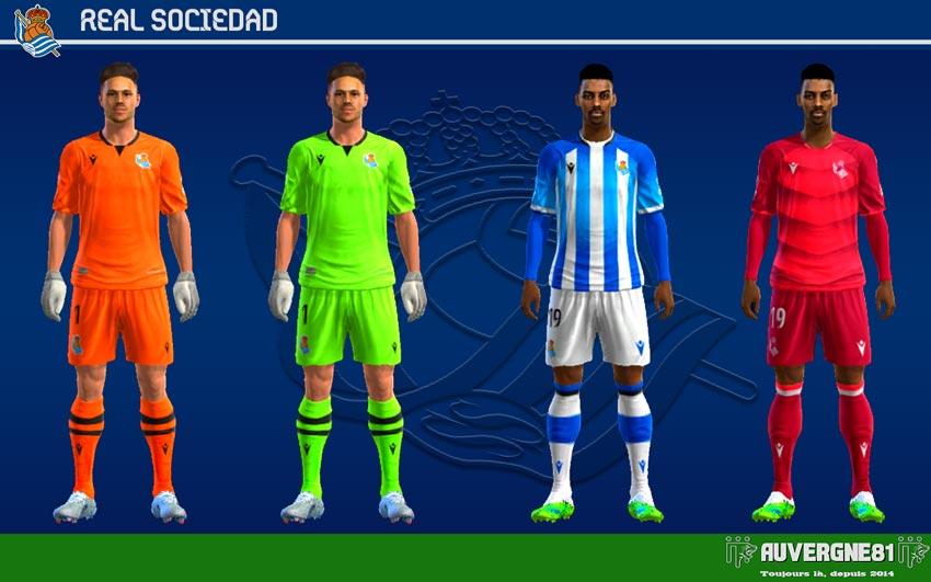 Kits Real Sociedad 2021-2022 For PES 2013