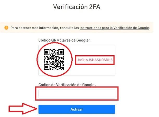 Verificación 2FA Kucoin comprar criptomonedas