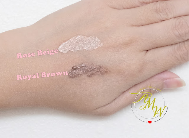 a swatch photo of K-Palette Real Lasting Cream Shadows Review (Overseas Edition) by Nikki Tiu of askmewhats.com