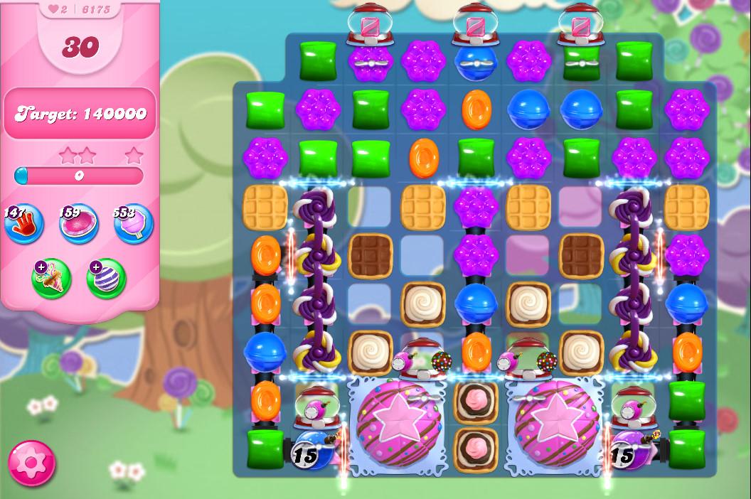 Candy Crush Saga level 6175