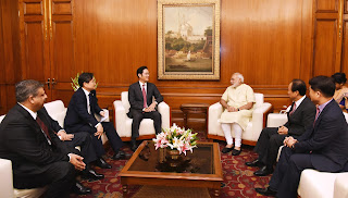 Vice Chairman Jay Y. Lee meets Prime Minister Shri Narendra Modi,  visit underscores importance of India as a Strategic Partner for Samsung