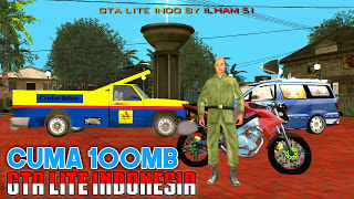 Download Game GTA Lite Indonesia 100MB