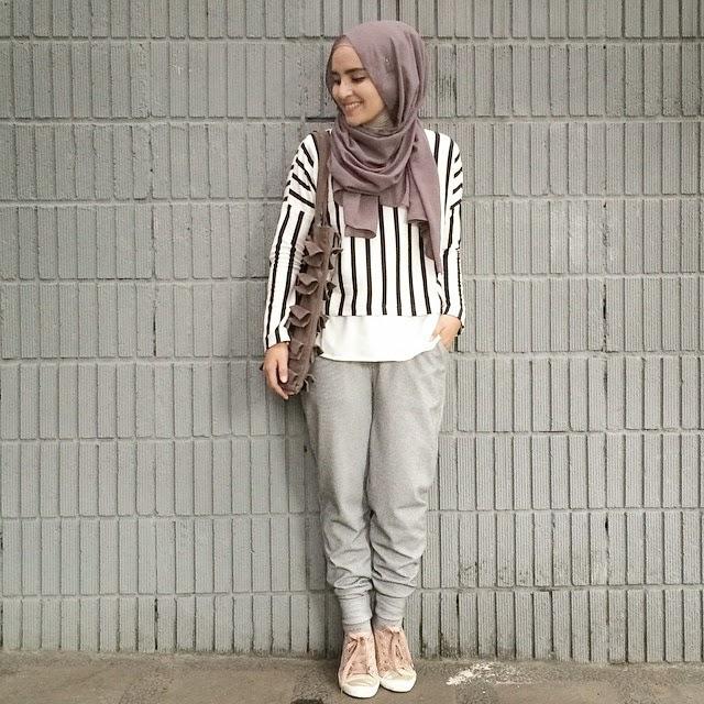Inspirasi 6 Model Hijab Crop Top Muslim Cantik Dan Stylish Cinuy Blog