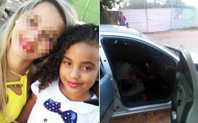 Menina de 9 anos é morta a tiros dentro de carro após sair da escola em Camaçari