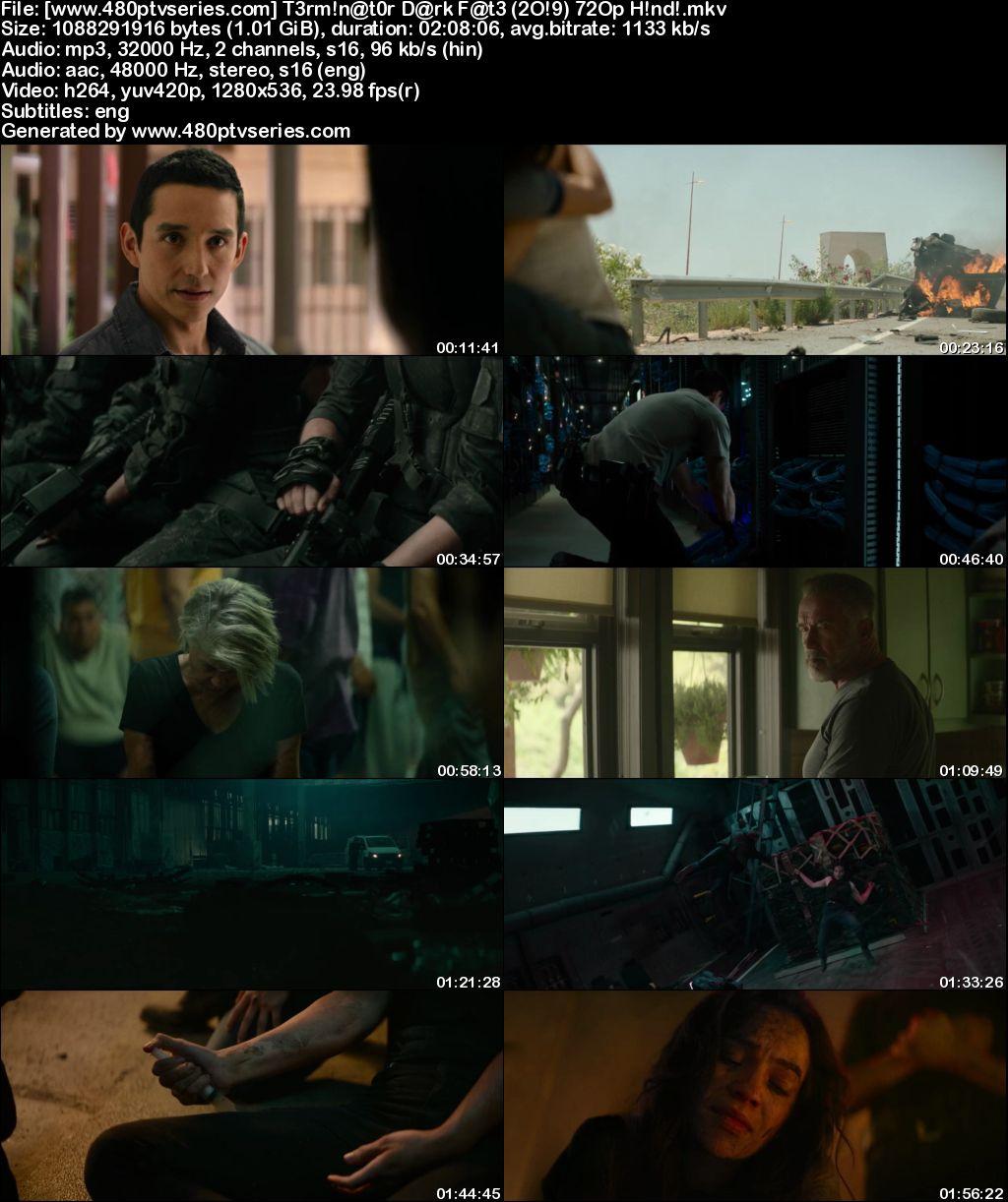 Download Terminator: Dark Fate (2019) 1GB Full Hindi Dual Audio Movie Download 720p Web-DL Free Watch Online Full Movie Download Worldfree4u 9xmovies
