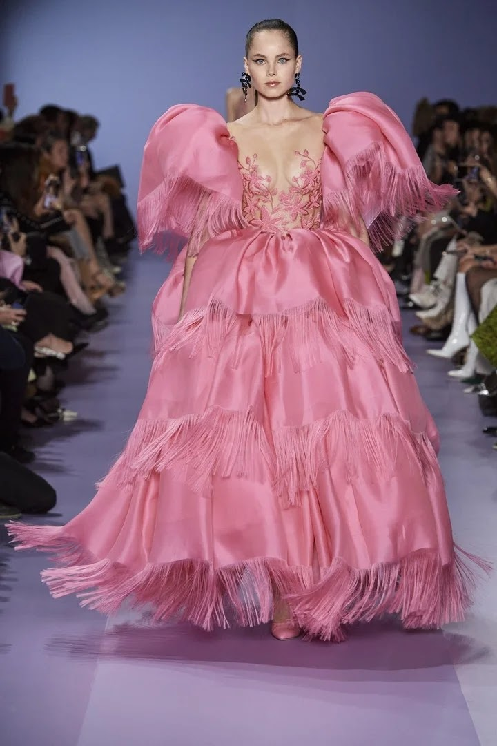 Georges Hobeika Spring-Summer 2020 Haute Couture Paris  Cool Chic Style  Fashion