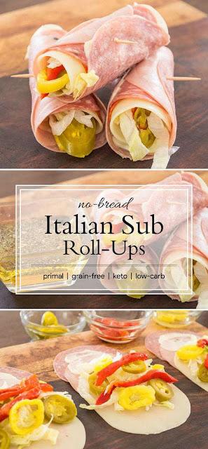 Keto Lunch Ideas – Italian Rollups
