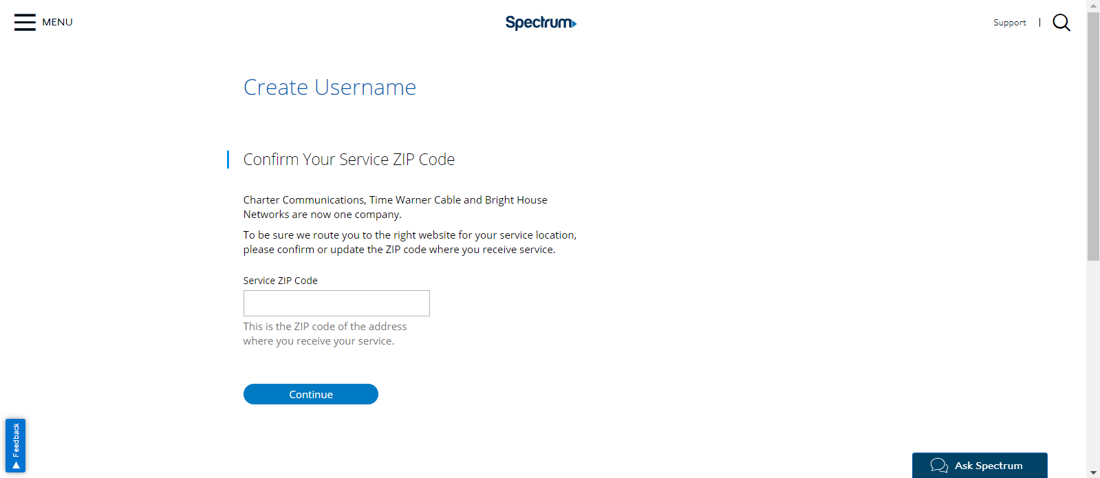 How to Register on Spectrum