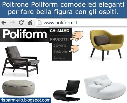 Poltrona Camilla Poliform Prezzo.Risparmiello Poltrone Poliform