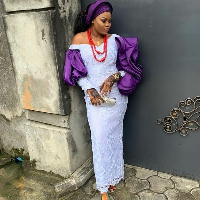 2019 New Elegant Asoebi Styles to Rock