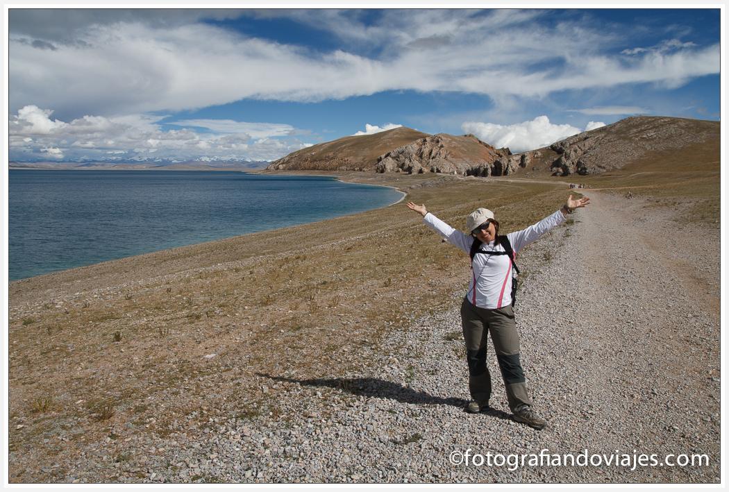 kora lago Namtso o Nam Co en Tibet