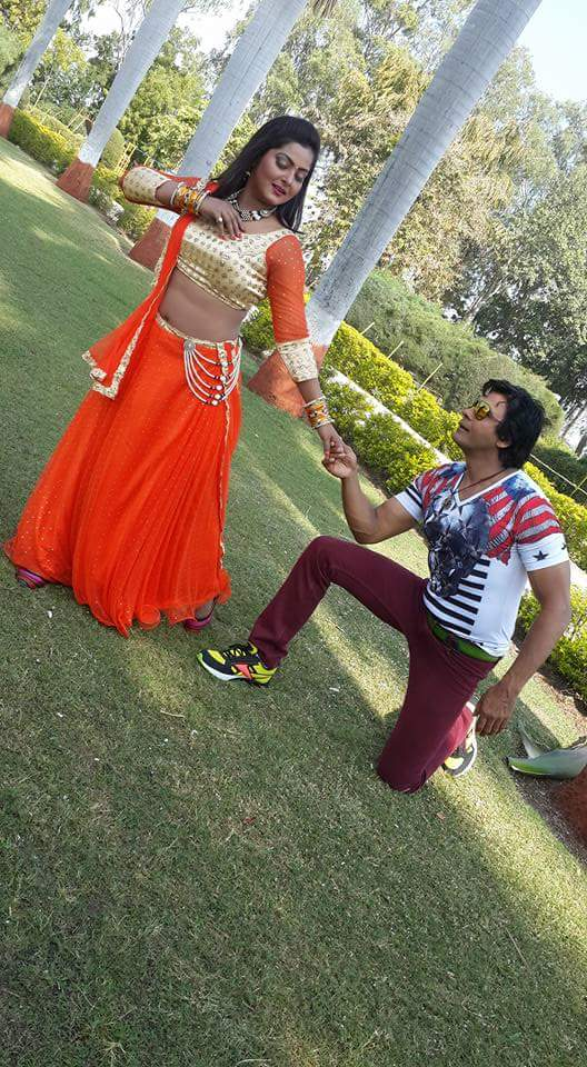 ON Set of Dil Hai Ki Manta Nahi Bhojpuri Film Shooting photo