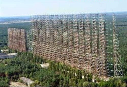 DUGA 3 - o Complexo de Antenas conhecido como-O Muro de Chernobyl-1