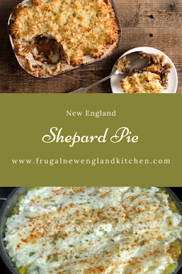 New England Shepard Pie Recipe