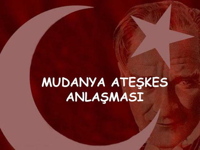 Mudanya Ateşkes Antlaşması {featured}