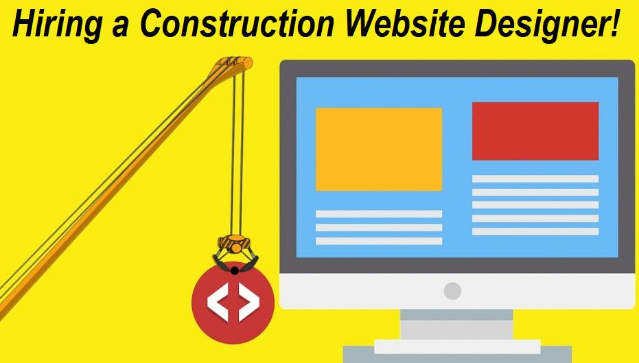 Construction Website Designer