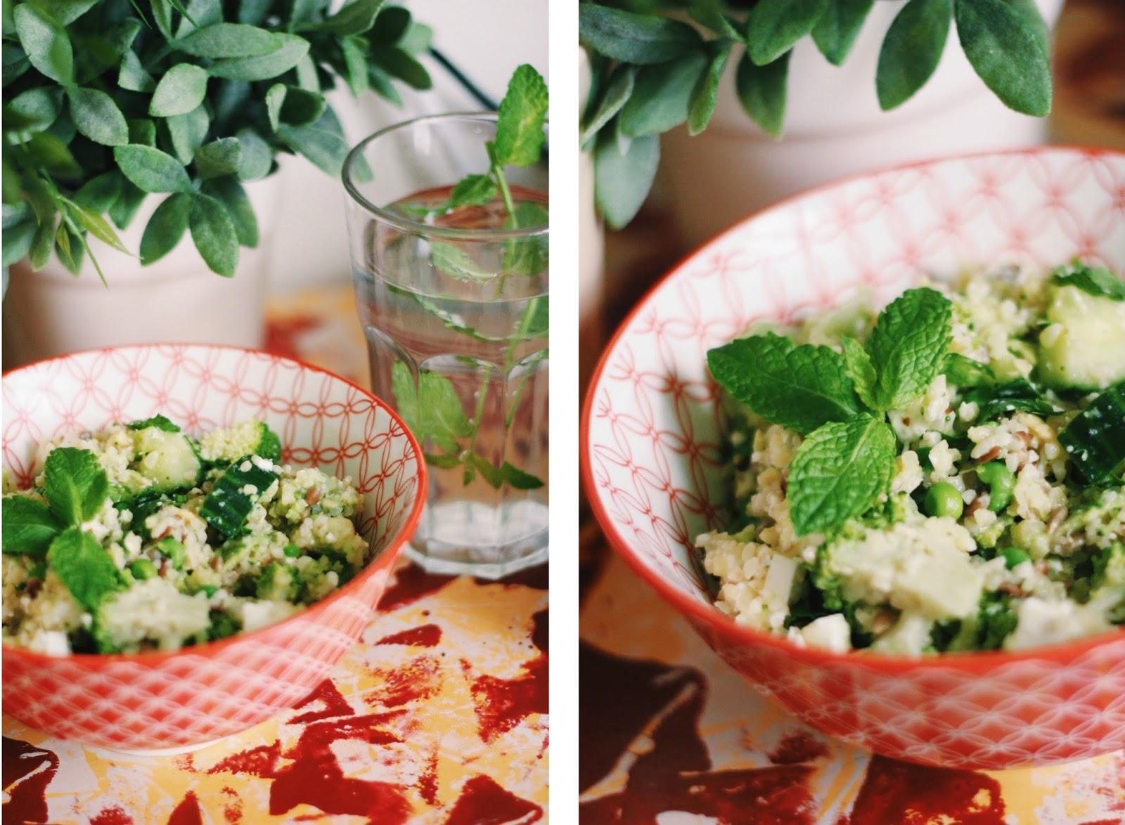 Leon Original Super Salad recipe.