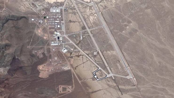 Top View of Area 51