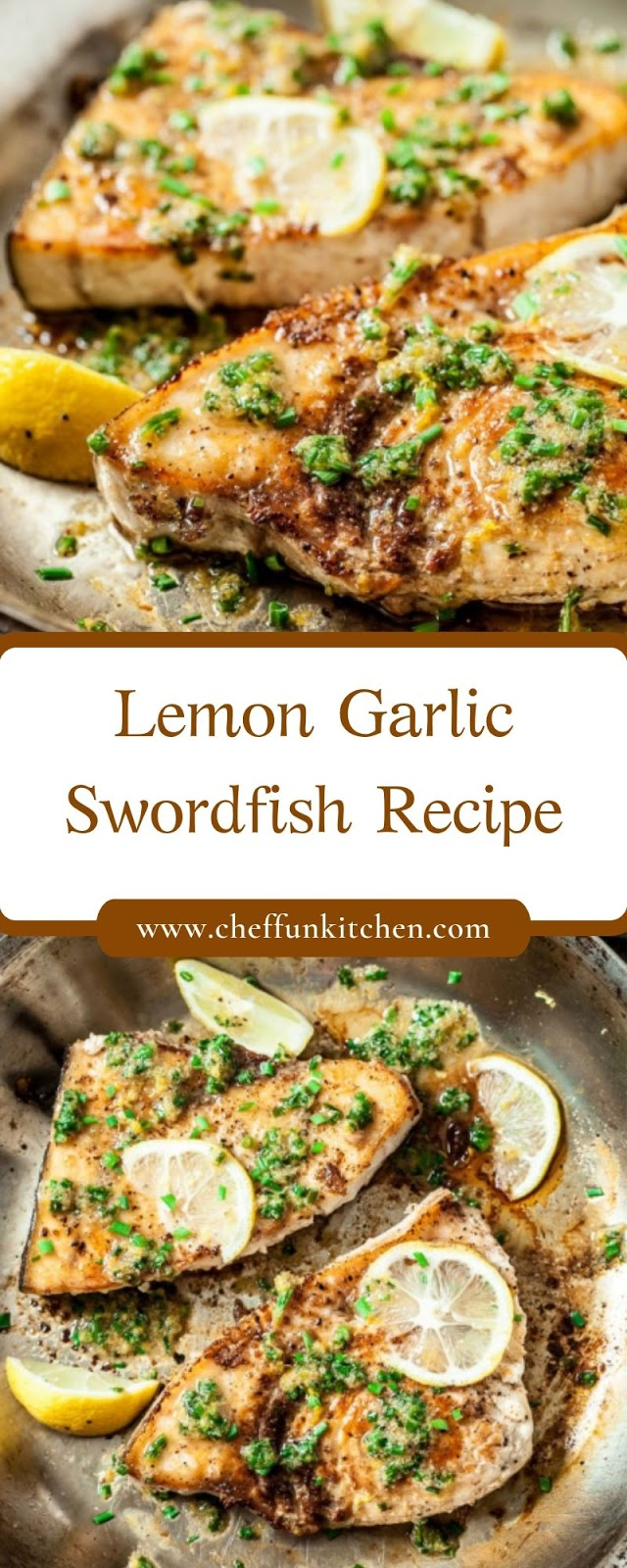 Lemon Garlic Swordfish Recipe
