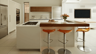 Barras de cocina modernas