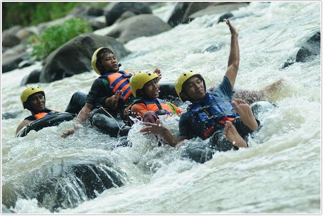 Brumbun Tubing Adventure;10 Top Destinasi Wisata Madiun