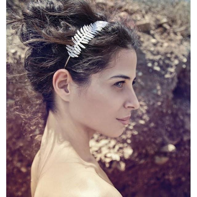 rhodium silver headbands, wedding headbands, bridesmaid hair accessories, bridal hair accessories
